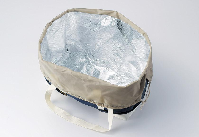 変身保冷温お買い物バッグ