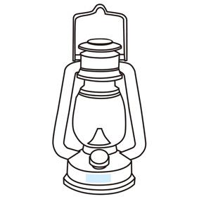 アンティークランタンライト調光タイプ