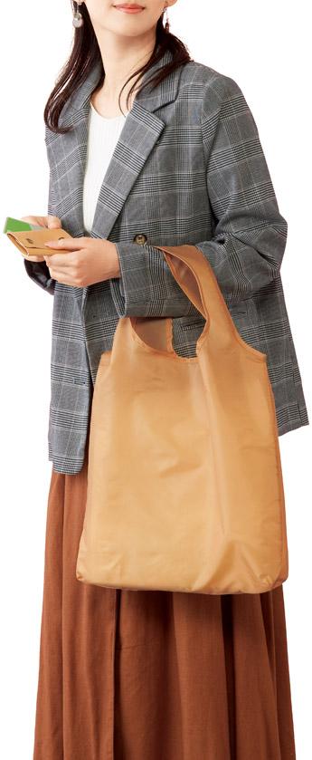 キャッシュレス対応ショッピングバッグ