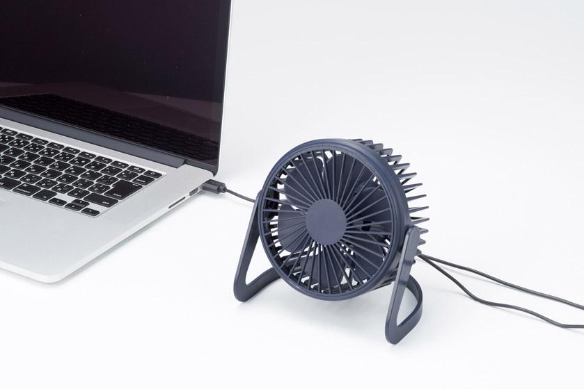 USBデスクトップファン