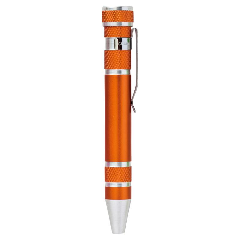 セルトナ・8in1 ペン型ドライバー オレンジ