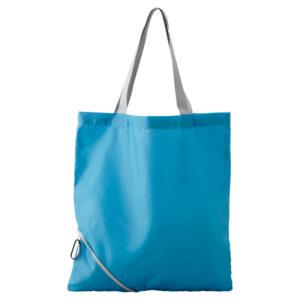 セルトナ・トライアングルポータブルバッグ(カラビナ付き)ブルー