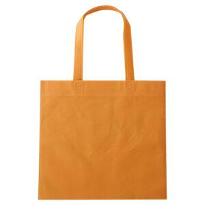 セルトナ・フラット型手提げバッグ オレンジ