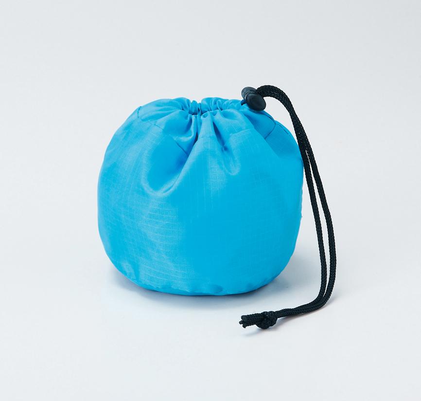 セルトナ・ボール型レジバッグ ブルー