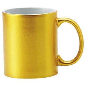 メタリック・マグカップ ゴールド
