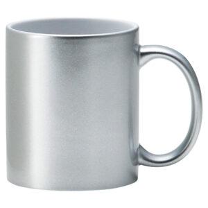 メタリック・マグカップ シルバー