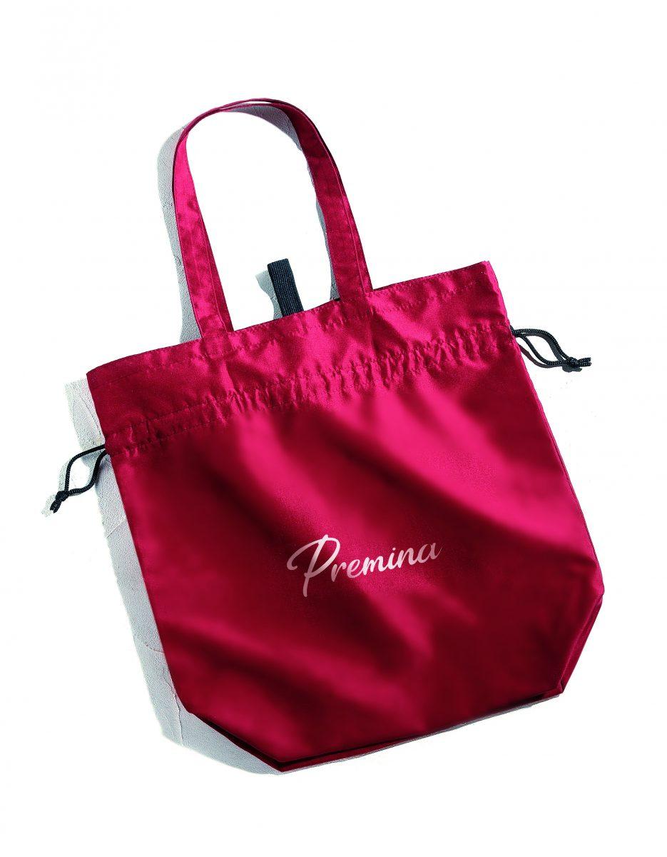 プレミナ・2WAY 巾着トートバッグ