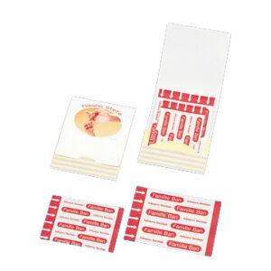 オリジナル紙製ケース付き 絆創膏 Mサイズ×2枚 Sサイズ×2枚