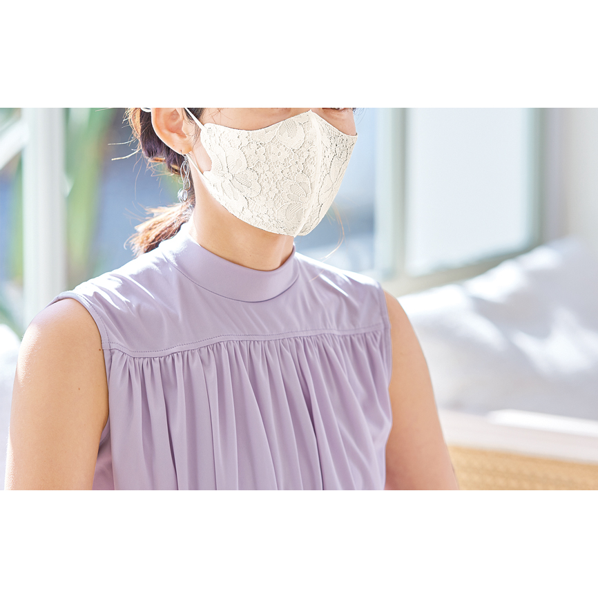 冷感エレガンスマスク1枚(抗菌・消臭)