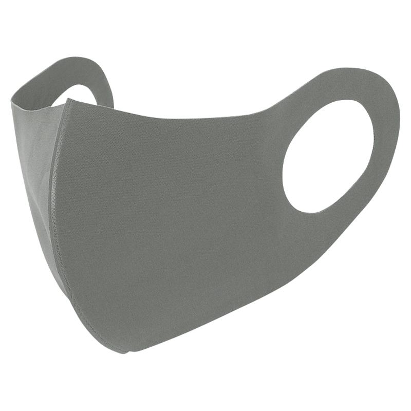 涼感洗えるマスク(3枚入)グレー