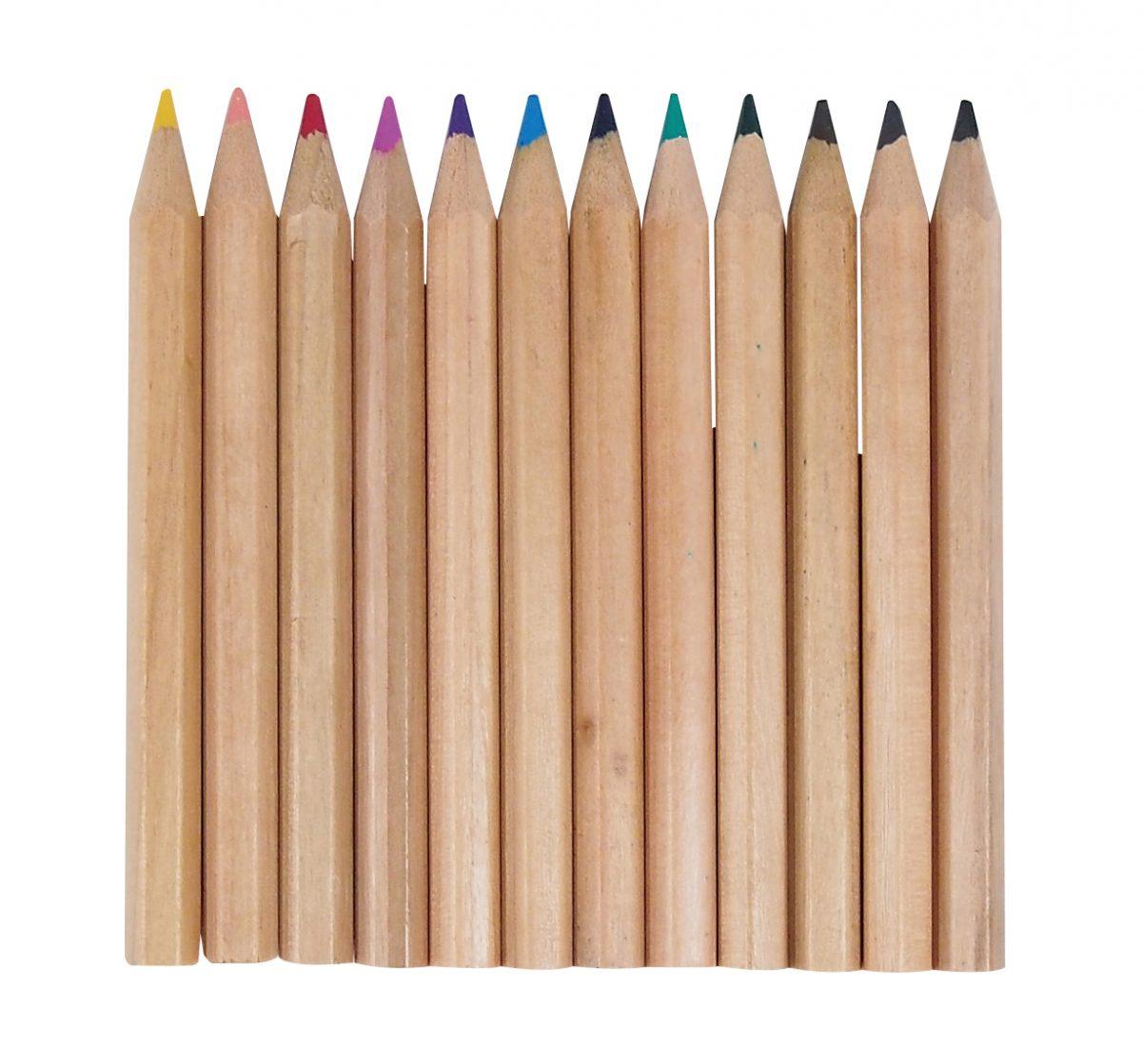 にほんの色鉛筆12色セット