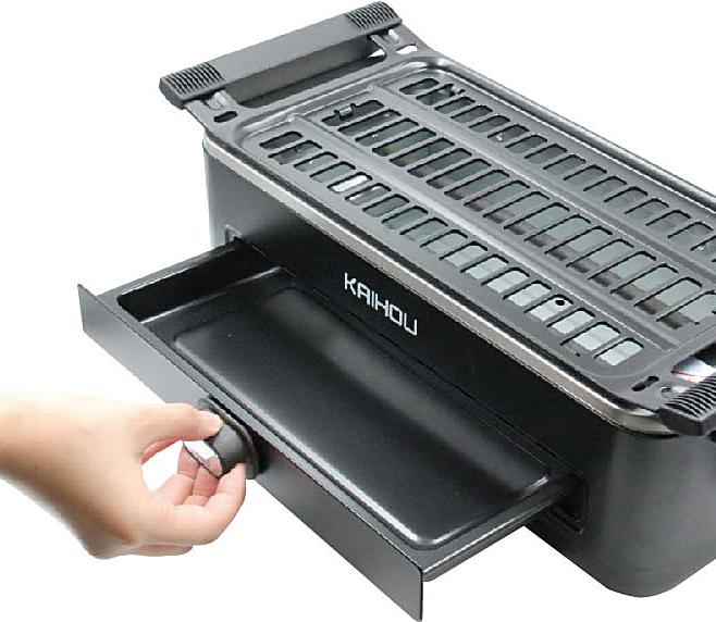 卓上タイプ無煙焼肉ロースター1台(ブラック)