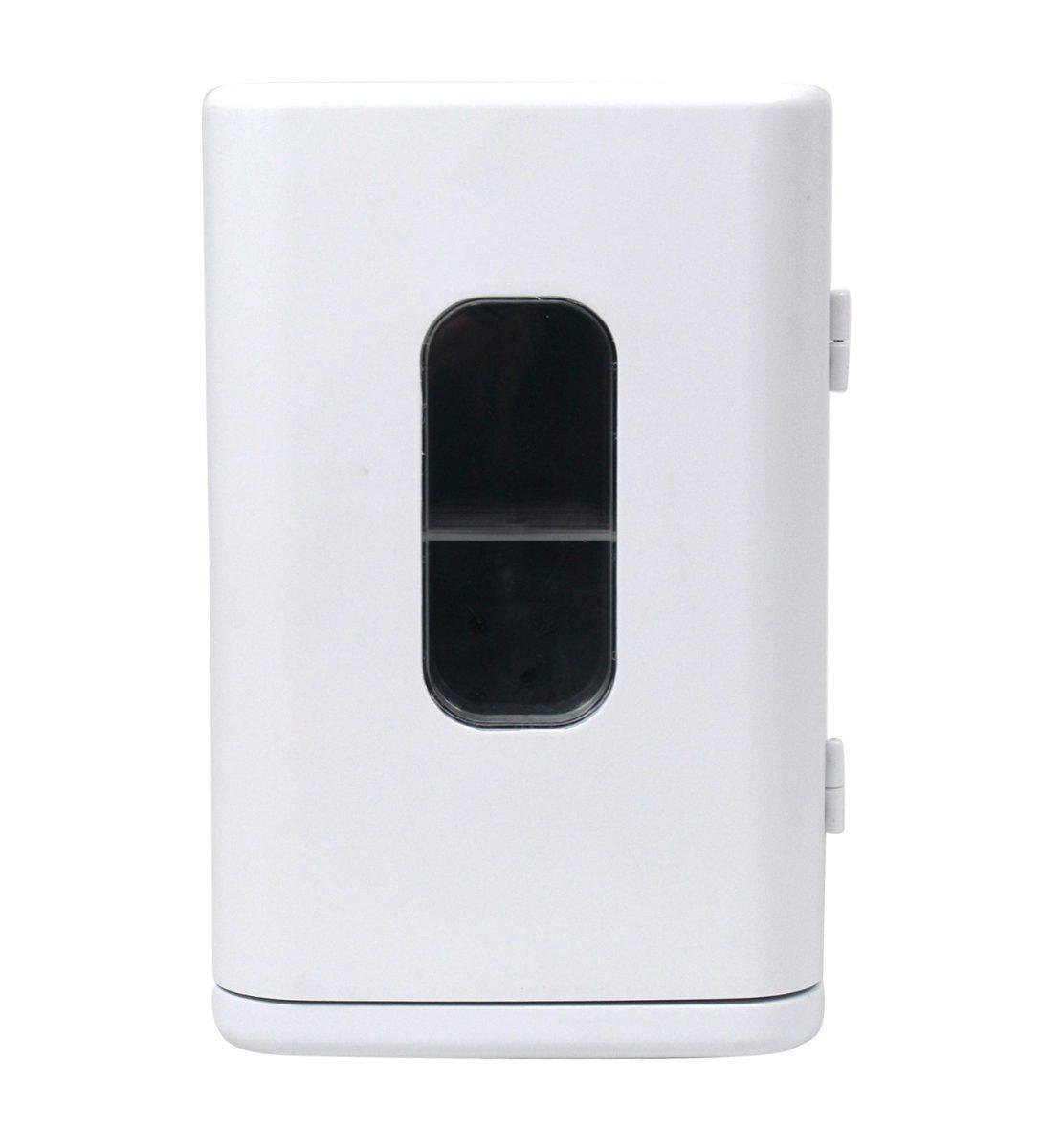 ディスプレー型ポータブル保冷温庫8L1台(ホワイト)