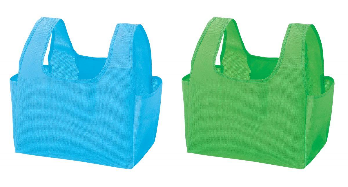 プラスチックスマート 折りたたみエコバッグ1個