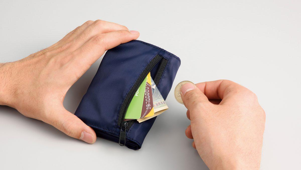 お財布エコバッグ 1個