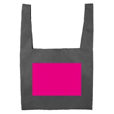 Ecolor 折りたたみ買い物かごバッグ(ブルー)