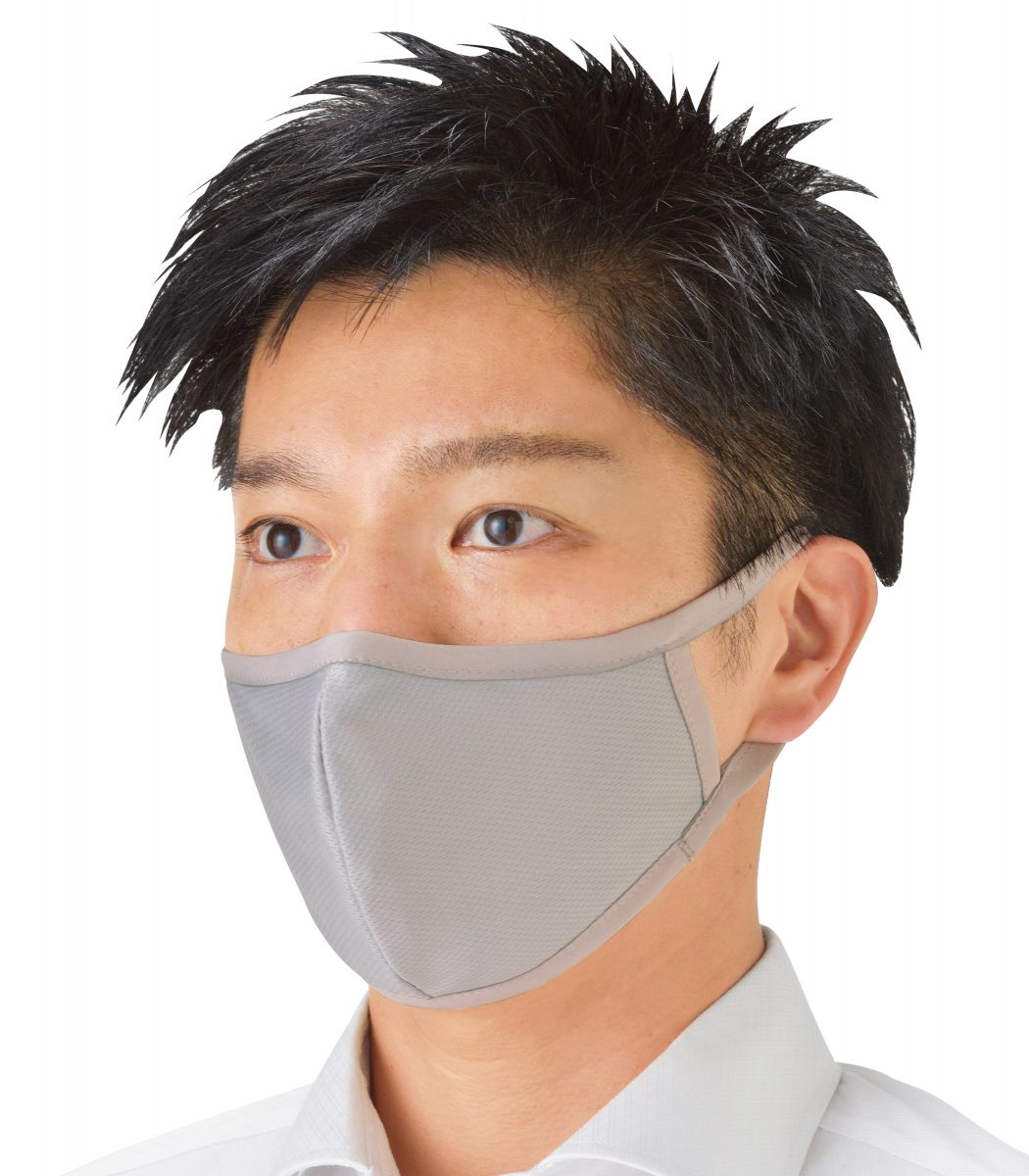 繰り返し使える 三層構造マスク1枚
