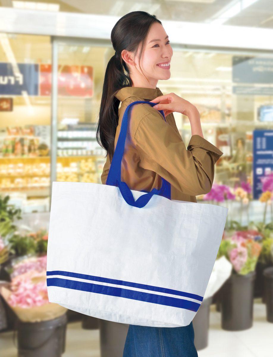 丈夫で大きなショッピングバッグ