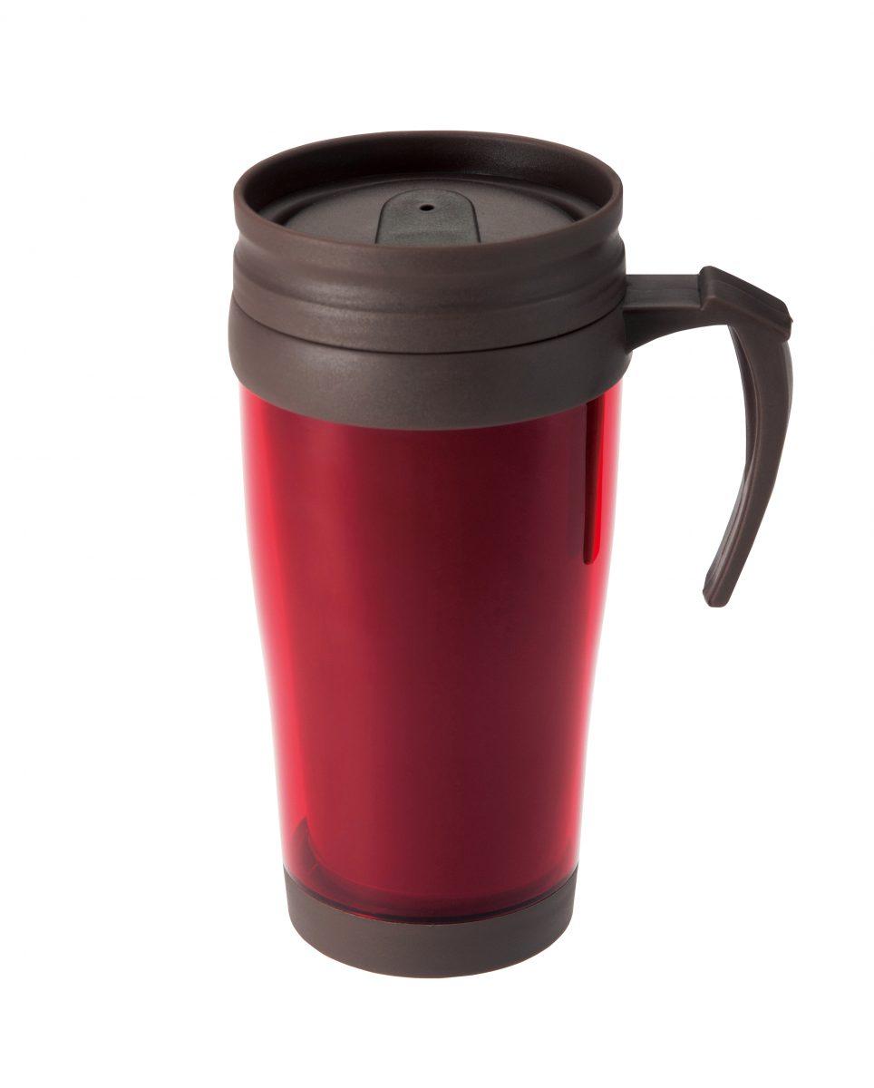 蓋付きダブルウォールマグカップ450ml1個