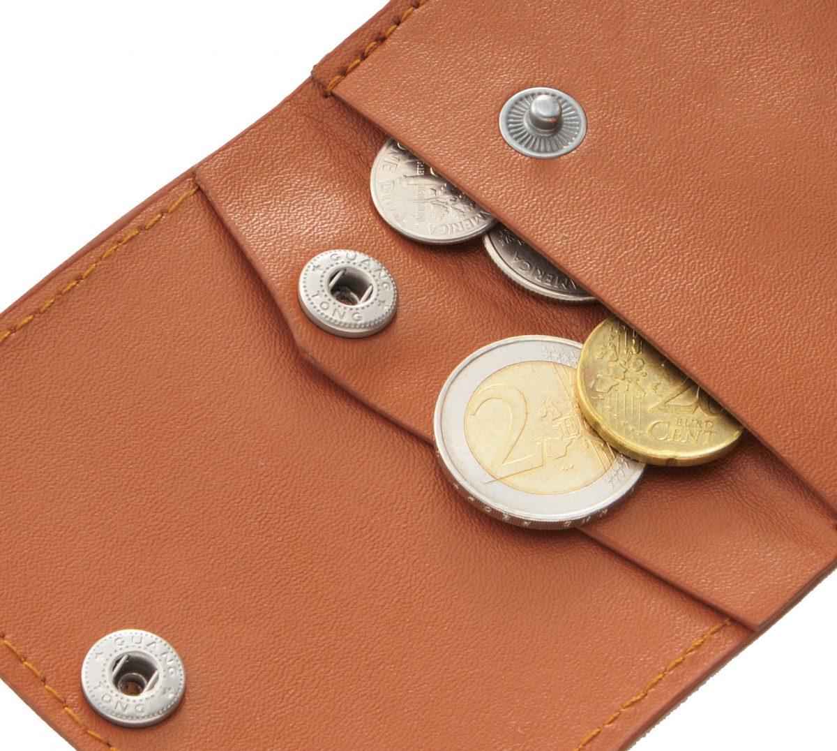 ちいさな三つ折り財布 1個