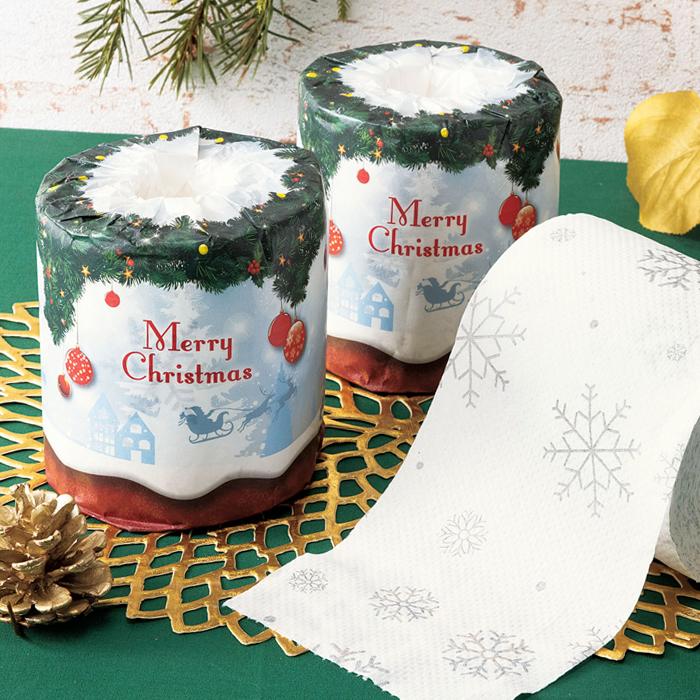 ホワイトクリスマス/トイレットロール