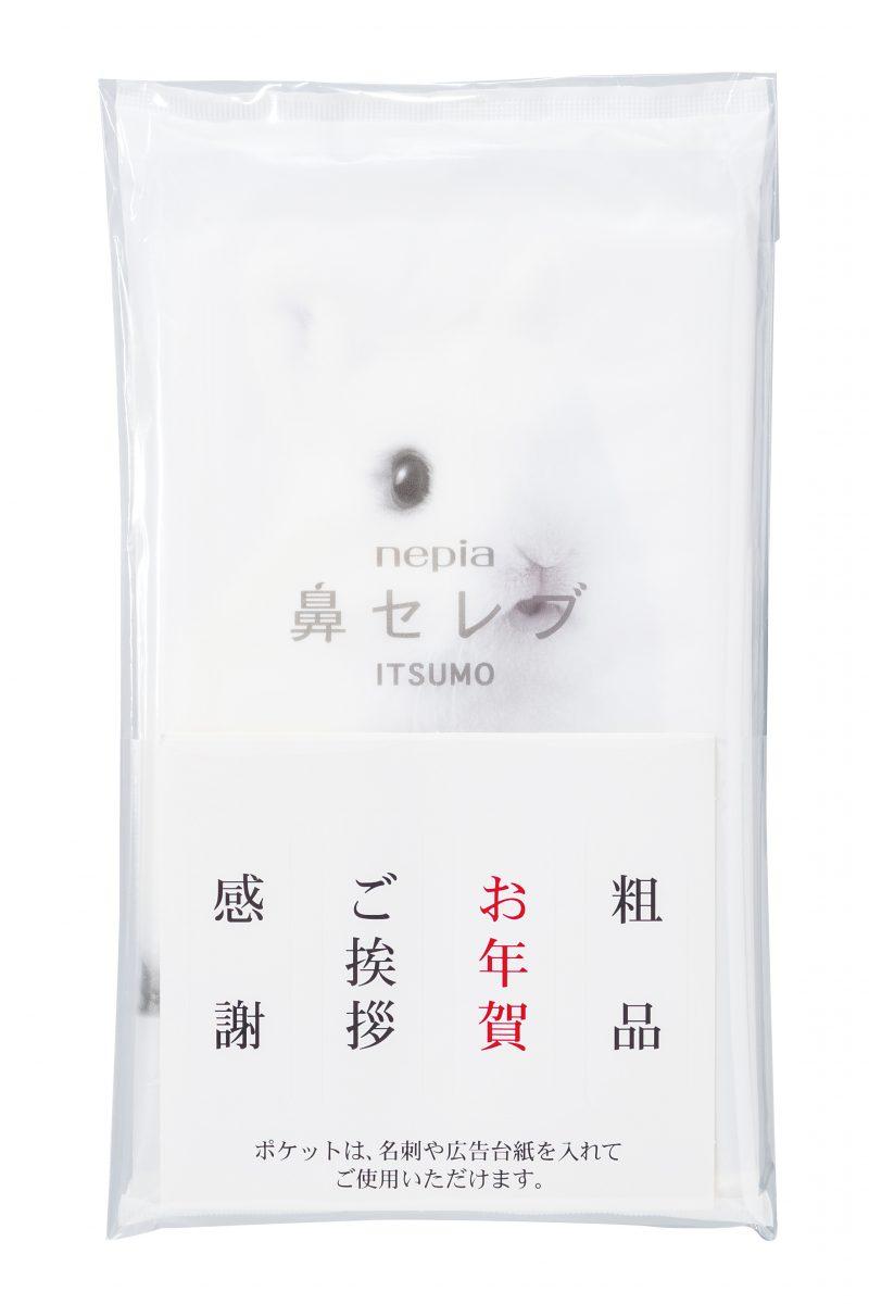 ネピア鼻セレブITSUMO48W(名刺ポケット付き)