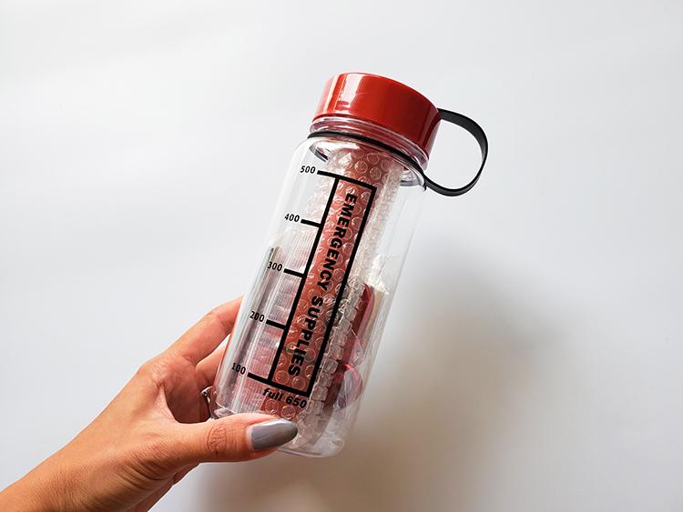 「防災対策ボトル5点セット」
