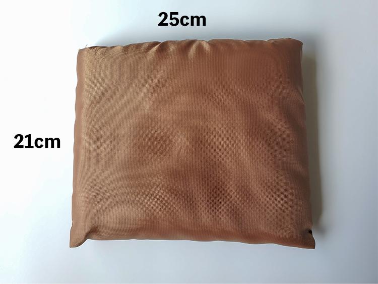 「シンプルスタイルポケット付きブランケット」のサイズ
